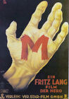 M is a 1931 German drama thriller by Fritz Lang 24x36 Classic Movie Poster