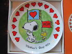 Schmid Charles Schulz Mothers Day 1974 Limited Edition Snoopy Woodstock Plate
