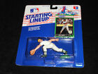 1989 Kenner Starting Lineup SLU Walt Weiss Oakland A's Rookie