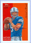 MATTHEW STAFFORD 2009 TOPPS NATIONAL CHICLE CABINET ARTIST SIGNATURE AUTO SP 50