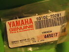 YAMAHA IT200 YZ490 XT350 TT600 WR500 FRONT WHEEL OIL SEAL OEM #93102-20281-00