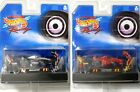 2 1999 TYCO 440-X2 F1 Indy HO Slot Cars #7 Mobil # 4 Ferrari : Rare Car-n-Crews!