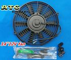 14 inch electric universal auto cooling radiator fan hot rad mounting kit