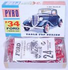 Pyro USA, FORD 3 WINDOW COUPE 1934 Table Top Series Model Car Kit MIB`65 RARE!