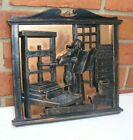 Vintage Coppercraft Guild Printer Hanging Wall Decoration Picture