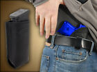 Barsony Black Leather IWB Concealment Holster + Mag Pouch GLOCK 19 23 26 27 28