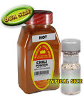CHILI POWDER HOT, packed weekly in large jars