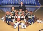 Fab5 Five Michigan Wolverines 11x14 Color Photo Chris Webber Jalen Rose