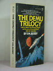 1stsigned by 2authorartistThe Demu Trilogy by F M Busby 1980 Cage a Man +