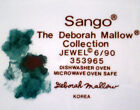 SANGO, JEWEL, Deborah mallow Collection, Round 12-Inch CHARGER