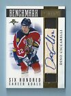 DINO CICCARELLI 2010 11 DOMINION BENCHMARK GAME USED STICK AUTOGRAPH AUTO 45
