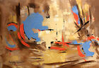 THE DELIVERER WILL COME FROM ZION ORIGINAL ABSTRACT PAINTING JESUS ANTHONY FALBO