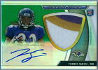 TORREY SMITH 2011 TOPPS PLATINUM GREEN REFRACTOR RC PATCH AUTO AUTOGRAPH SP 125