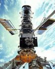 REPAIR OF THE HUBBLE SPACE TELESCOPE ON STS 103 8X10 NASA PHOTO EP 461