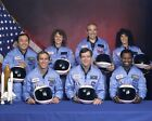 New 8x10 NASA Photo Final Astronaut Crew of Ill Fated Space Shuttle Challenger