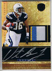 VINCENT BROWN 2011 PANINI GOLD STANDARD AUTO PATCH RC # 1 525 CHARGERS