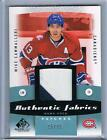 2010-11 MIKE CAMMALLERI UD SP GAME USED FABRICS PATCHES #AF-MC CANADIENS #15 35