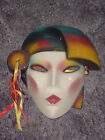 CLAY ART CERAMIC MASK..VOGUE..EXTREMELY RARE