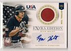 2012 Panini Elite Extra Edition Baseball 18U National Team Autographs Guide 30
