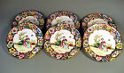Chinese 6 Export Porcelain Dessert Dishes Figural Decoration ca. 20th C.