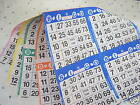 BINGO PAPER--4 CARDS/SHEET 5 SHEETS/BOOK-125 books