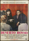 RED DESERT 1964 Italian 39x55 EX condition Michelangelo Antonioni Monica Vitti