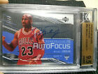 2003-04 Upper Deck Glass MICHAEL JORDAN auto GEM MINT BGS 9.5 auto 10