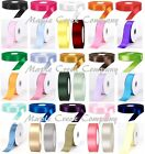 100yds Double Face Polyester Satin Ribbon 1 4x100yd ANY COLOR Finished Edge