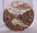 JOHNSON BROS. OLDE ENGLISH COUNTRYSIDE BROWN BREAD PLATE 6 1/4