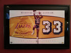 Upper Deck Authenticated Kareem Abdul Jabbar Autograph Numbers