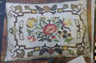 Erica Wilson Red Floral Jacobean Pillow CREWEL Embroidery Kit NEW