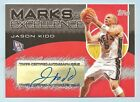 JASON KIDD 2004 05 TOPPS MARKS OF EXCELLENCE AUTOGRAPH AUTO