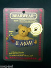 Boyds Bear Resin Pin Accessory    ** Munchkin's Love you Mom ** Mother's Day