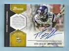 PERCY HARVIN 2012 BOWMAN INSIDE THE NUMBERS JERSEY AUTOGRAPH AUTO