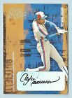 ANDRE DAWSON 2005 DONRUSS LEATHER & LUMBER AUTOGRAPH AUTO 100