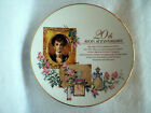 AVON 20th ANNIVERSARY COLLECTOR PLATE 22K GOLD TRIMMED-1990-