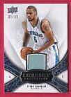 TYSON CHANDLER 08-09 UD EXQUISITE COLLECTION JERSEY #31 35 UPPER DECK RARE