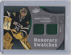 2009-10 UPPER DECK TRILOGY MARTY TURCO UD HONORARY SWATCHES JERSEY STARS