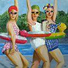 Painting: Krissy, Janie and Laurie - Reduced
