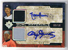 RANDY JOHNSON ROGER CLEMENS 05 ULTIMATE COLLECTION AUTO DUAL JERSEY # 3 10 (SP)