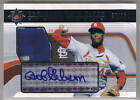 BOB GIBSON 2004 ULTIMATE COLLECTION AUTO GAME USED PATCH # 30 30 ST LOUIS HOF