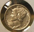 1936-P~~MERCURY DIME~~AU BEAUTY