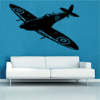 Spitfire Decal Vinyl Wall Sticker Art Kids Room Boys Girls Dcor