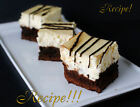 ☆Right from the Boardwalk of Disney!☆Brownie Cheesecake