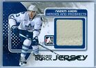 NAZEM KADRI 2010-11 ITG IN THE GAME BLACK GAME USED JERSEY SP 120