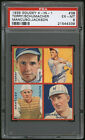 1935 Goudey #3B Bill Terry New York Giants Frankie Frisch Puzzle PSA 6