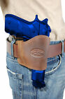 Barsony Brown Leather Yaqui Gun Holster for Smith  Wesson 9mm 40 45 Full Size