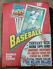 1991 Topps Wax Box (36 Unopened Packs, Possible Chipper Jones Rookie Card)