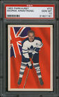 1963-64 Parkhurst Hockey Card #73 George Armstrong PSA 10 Absolutely Beautiful!