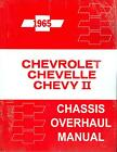 1965  CHEVELLE/SS/CHEVY II  OVERHAUL  MANUAL